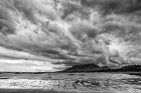Buien boven Croagh Patrick