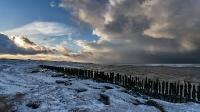 Sneeuw in Moddergat